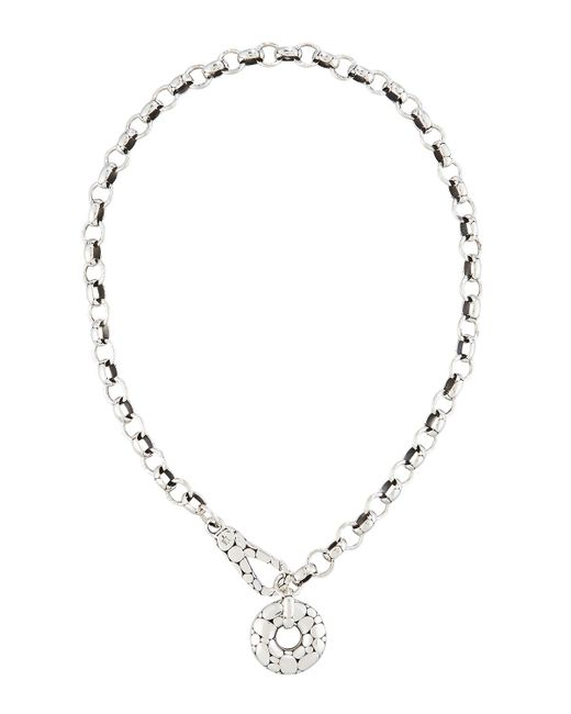 John Hardy - Metallic Silver Kali Link Necklace - Lyst