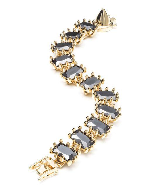 Eddie Borgo - Metallic Small Rectangle Estate Bracelet - Lyst