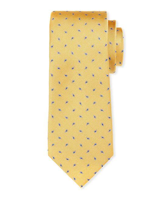 Neiman Marcus - Red Pine Paisley Silk Tie for Men - Lyst