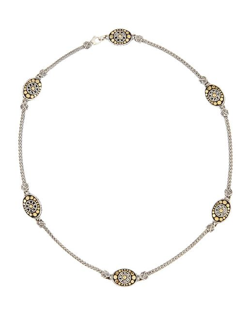 John Hardy - Metallic Jaisalmer 18k Gold & Sterling Silver Sautoir Necklace - Lyst