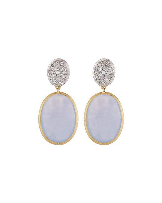 Marco Bicego | Multicolor Siviglia 18k Chalcedony Diamond Drop Earrings | Lyst