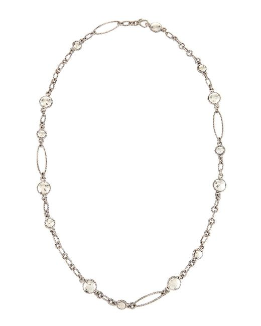 John Hardy - Metallic Palu Sautoir Long Round Link Station Necklace - Lyst