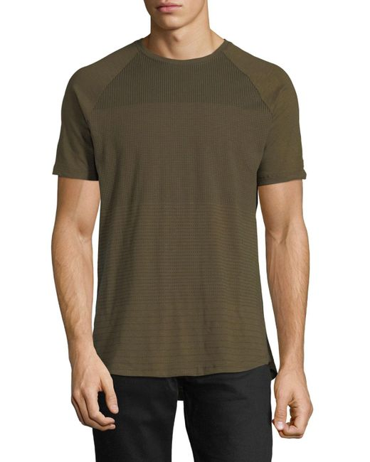 Civil Society | Green Pin Dot Slub Short-sleeve Tee for Men | Lyst