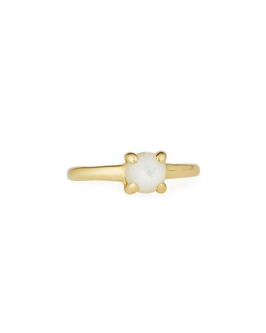 Ippolita - White Lollipop® 18k Teeny Mother-of-pearl Doublet Ring - Lyst
