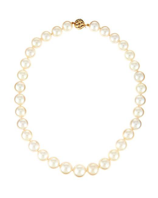 Belpearl - Metallic 14k South Sea Pearl Swirl Necklace - Lyst