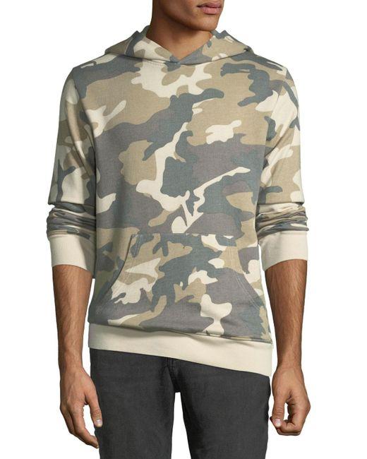 """Wesc - Multicolor Men's """"mike"""" Camo Spring Fleece Sweatshirt for Men - Lyst"""