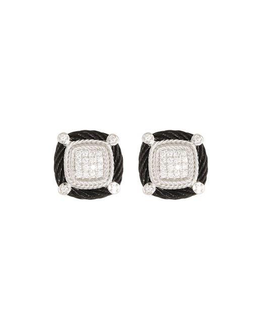 Alor - Black Noir Diamond Stud Earrings - Lyst