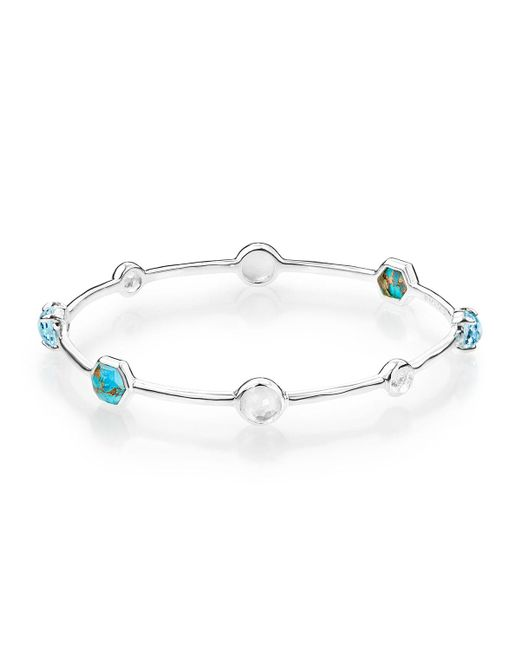 Ippolita - Blue Rock Candy Mixed-stone Bangle - Lyst