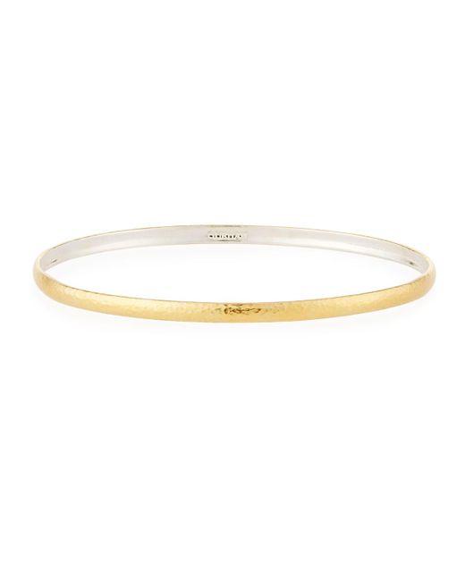 Gurhan - Metallic Hoopla Thin Bangle Bracelet - Lyst