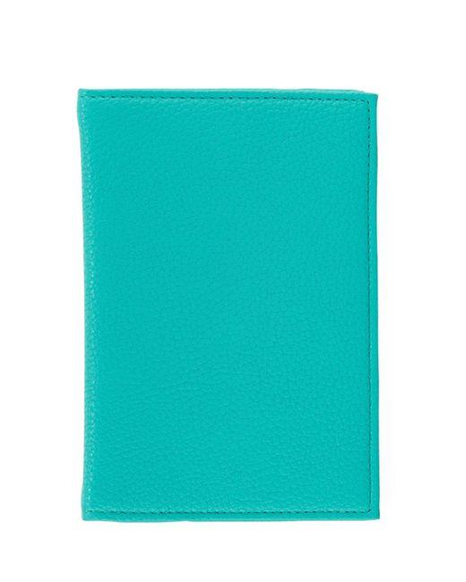 Neiman Marcus - Blue Pebble Passport Cover (unboxed) - Lyst