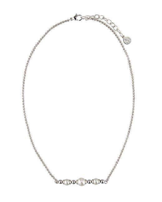 Majorica - White Allison Pearl & Ball Bead Necklace - Lyst