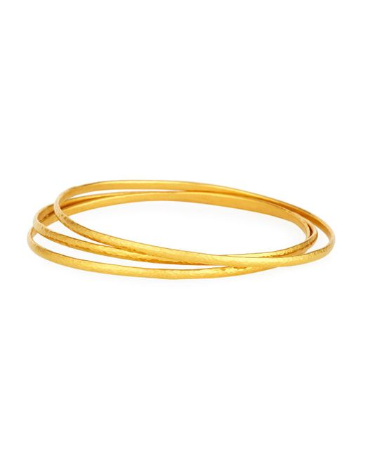 Gurhan - Metallic Constellation 24k Gold Bangles - Lyst