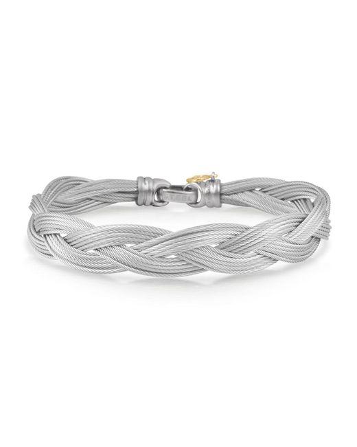 Alor - Metallic Woven Multi-strand Cable Bracelet - Lyst
