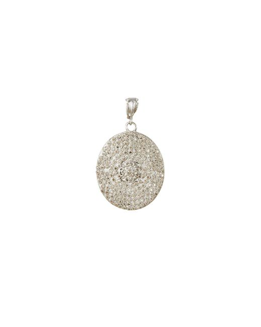 Armenta - White Diamond Pavé Shield Enhancer - Lyst