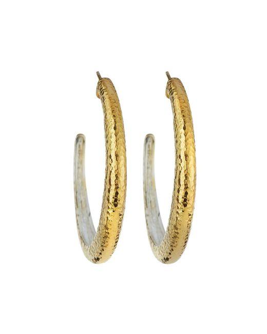 Gurhan - Metallic Hoopla Large Tapered Hoop Earrings - Lyst