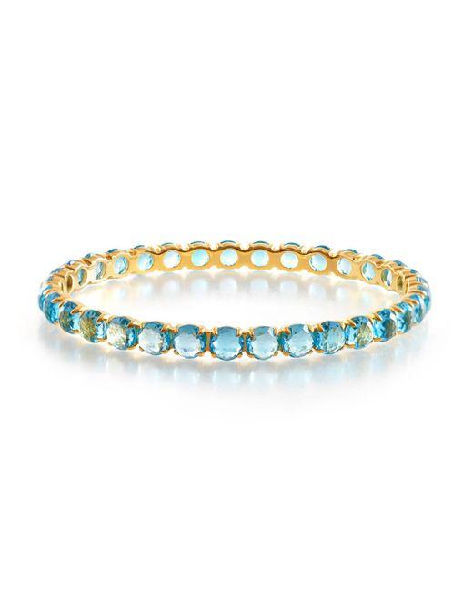 Ippolita - Metallic 18k Gold Lollipop® All Stones Bangle Swiss Blue Topaz - Lyst