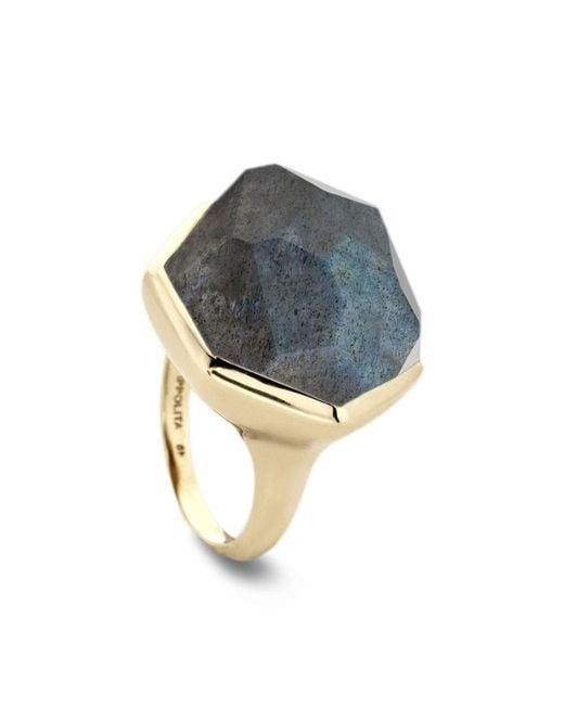Ippolita | Gray 18k Large Labradorite Doublet Ring | Lyst