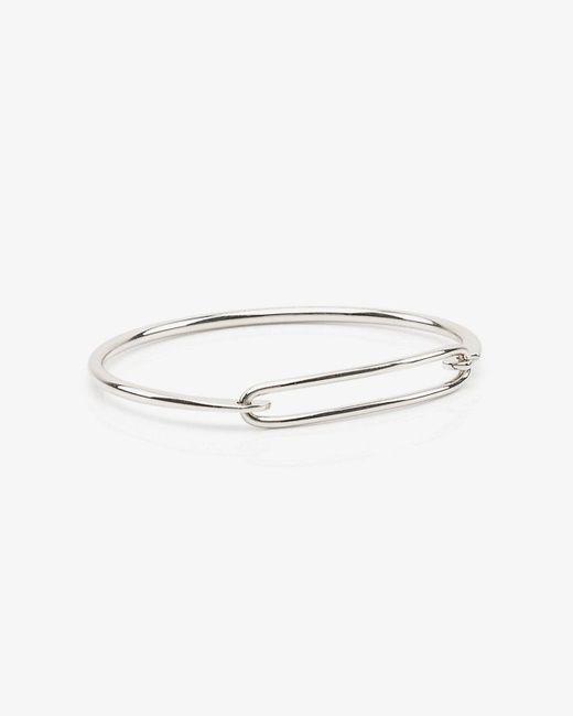 Le Chateau - Metallic Metal Hinge Bracelet - Lyst