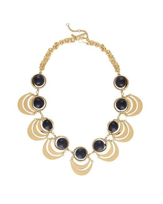 Lele Sadoughi - Multicolor Orbit Necklace - Lyst