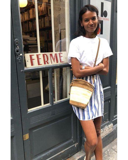 Lemlem - Blue Lulu Short Skirt - Lyst