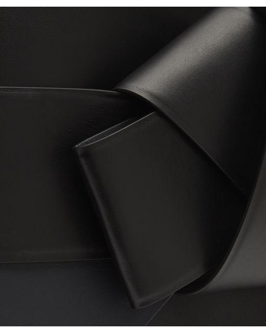 91c5bca19c Lyst - Acne Studios Bow Front Musubi Shopper Bag in Black
