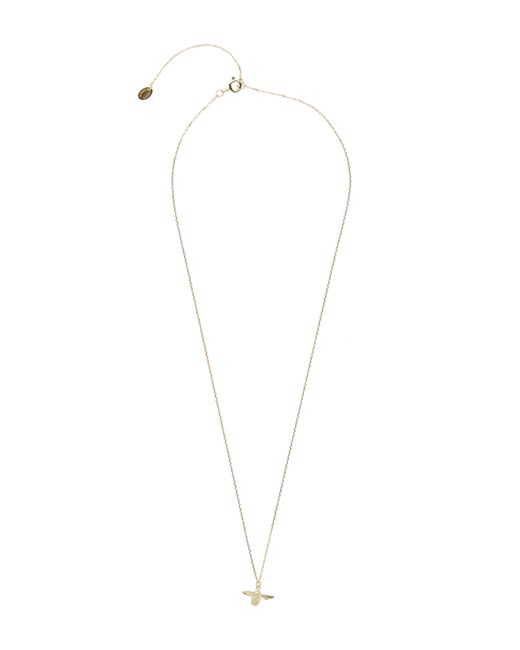 Alex Monroe - Metallic Gold Teeny Tiny Bumblebee Necklace - Lyst