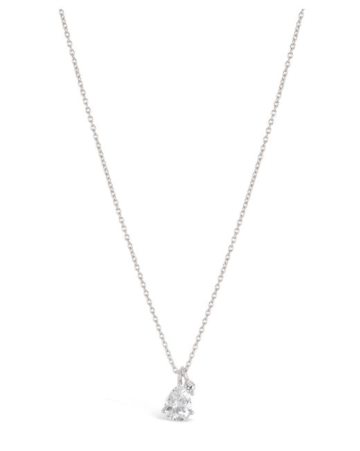 Dinny Hall - Metallic Silver Gem Drops White Topaz Pendant Necklace - Lyst