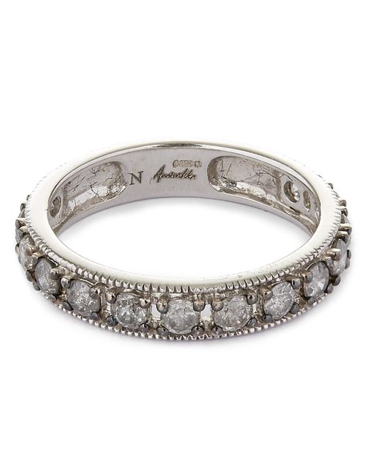 Annoushka - Metallic 18ct White Gold Dusty Diamond Eternity Ring - Lyst