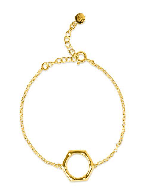 Dinny Hall - Metallic Gold-plated Bamboo Round Bracelet - Lyst