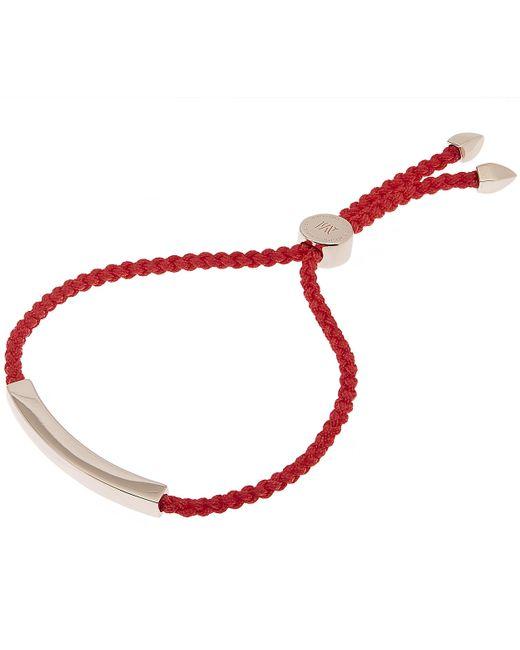 Monica Vinader - Multicolor Rose Gold Vermeil Linear Friendship Bracelet - Lyst