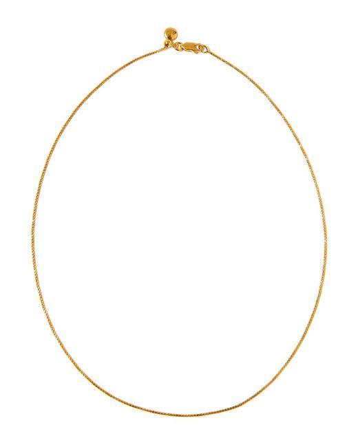 Fine Chain 17/43cm with adjuster, Gold Vermeil on Silver Monica Vinader