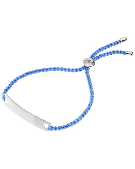 Monica Vinader   Blue Silver Havana Friendship Bracelet   Lyst