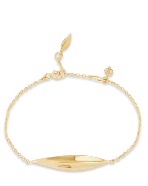 Dinny Hall - Metallic Gold-plated Lotus Bracelet - Lyst