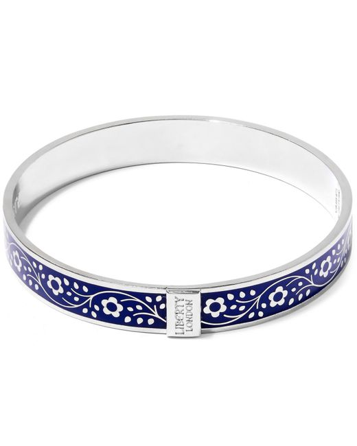 Liberty - Blue Pemberley Solid Floral Bracelet - Lyst
