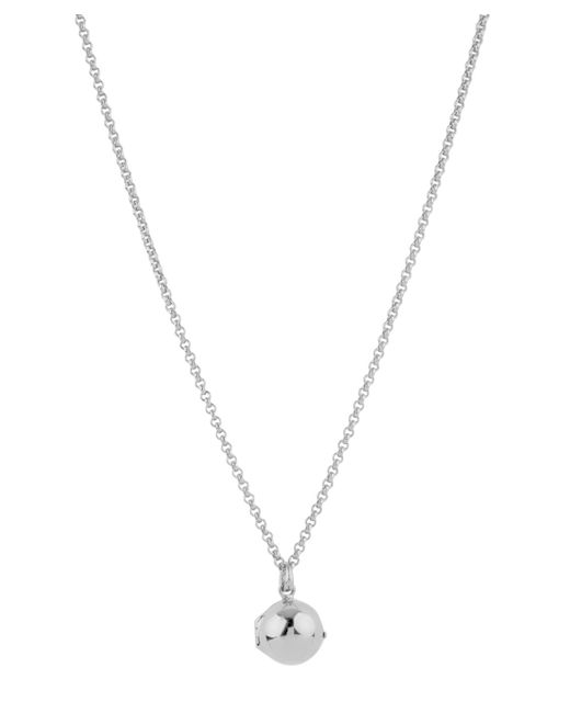 Dinny Hall - Metallic Small Silver My World Locket - Lyst