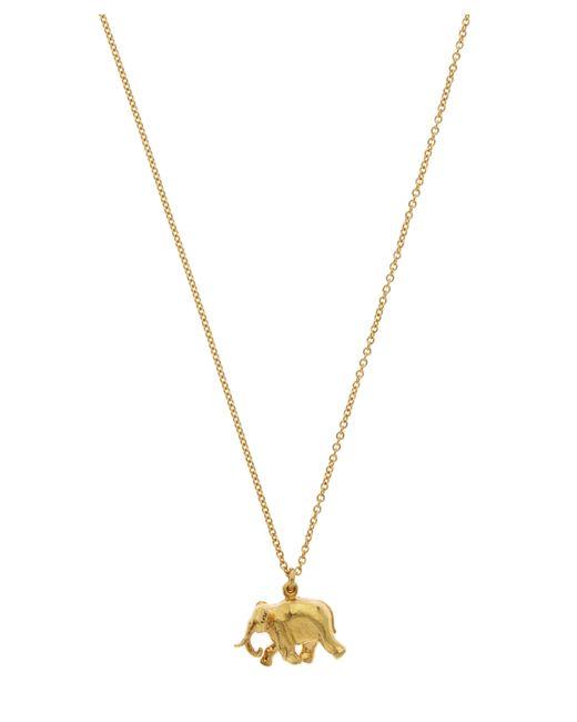 Alex Monroe - Metallic Gold-plated Indian Elephant Pendant Necklace - Lyst