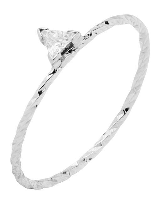 Maria Black - Metallic Rose Gold Diamond Cut Ally Ring - Lyst