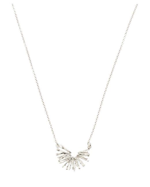 Alex Monroe - Metallic Silver Nest Structure Half Circle Necklace - Lyst