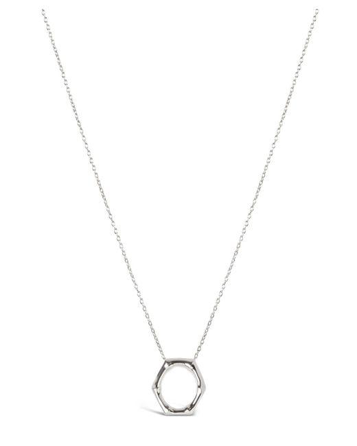 Dinny Hall - Metallic Bamboo Round Slide Pendant Necklace - Lyst
