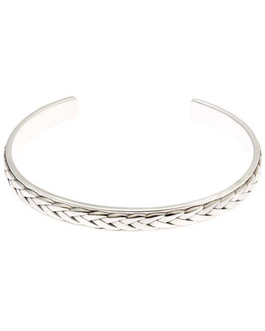 Philippe Audibert - Metallic Filan Pattern Cuff Bracelet - Lyst
