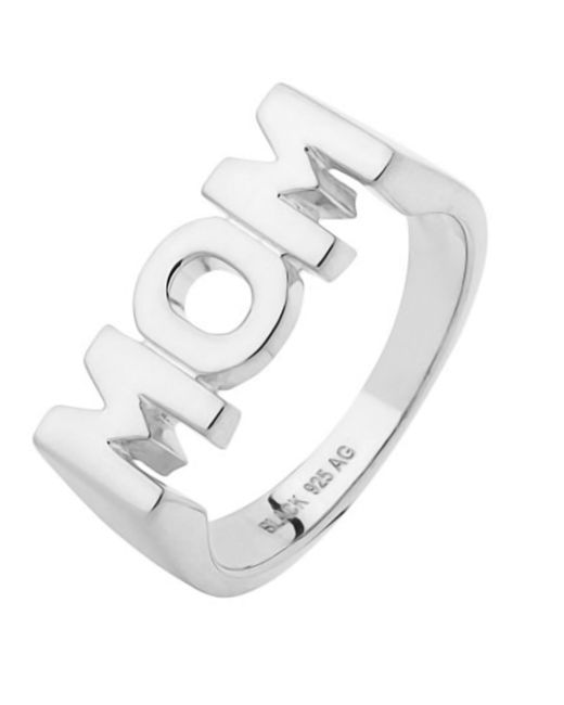 Maria Black - Metallic Silver Mom Ring - Lyst
