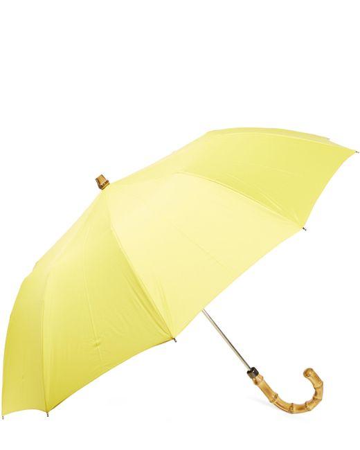 London Undercover | Yellow Whangee-handle Telescopic Umbrella | Lyst