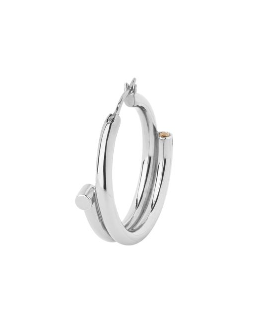 Maria Black - Metallic Silver Genie Right Hoop Earring - Lyst