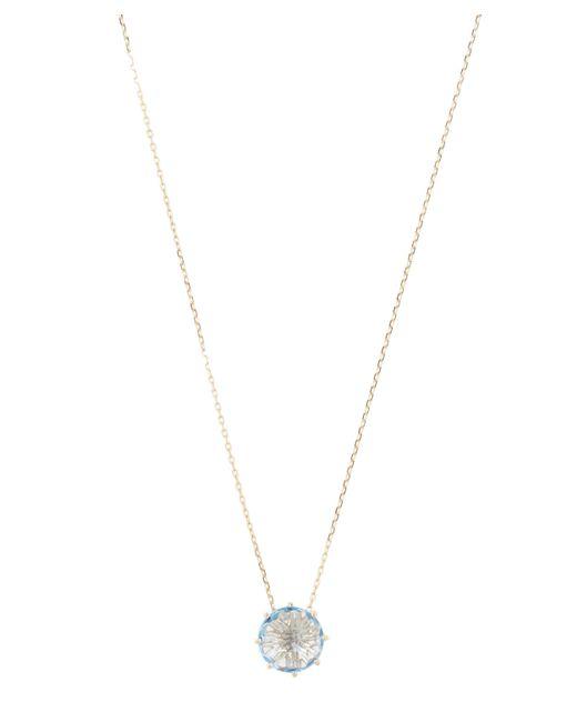 Suzanne Kalan - Metallic Gold Swiss Blue Topaz Necklace - Lyst