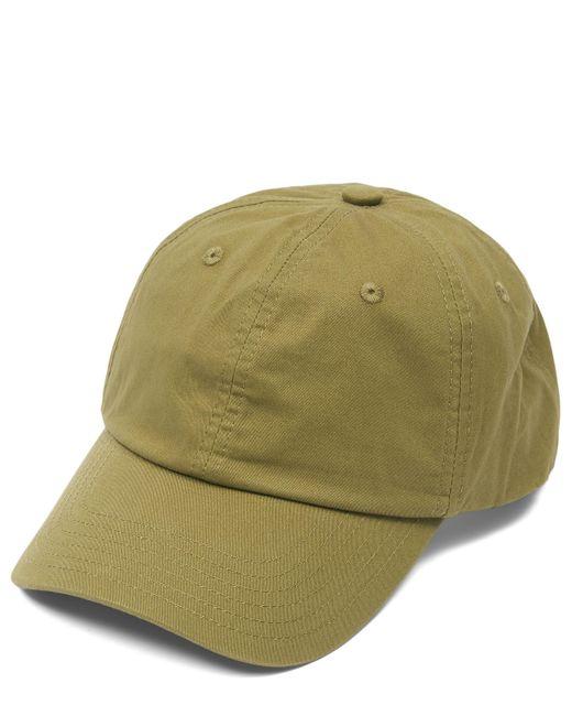 Acne Green Six-panel Face Cap