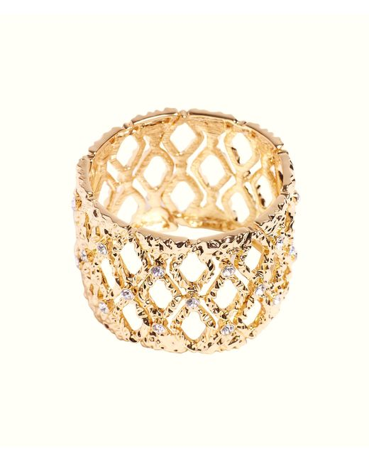 Lilly Pulitzer - Metallic Mosaic Stretch Bracelet - Lyst