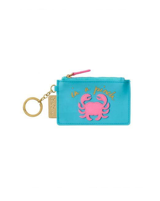 Lilly Pulitzer | Blue Jelly Coin Case | Lyst
