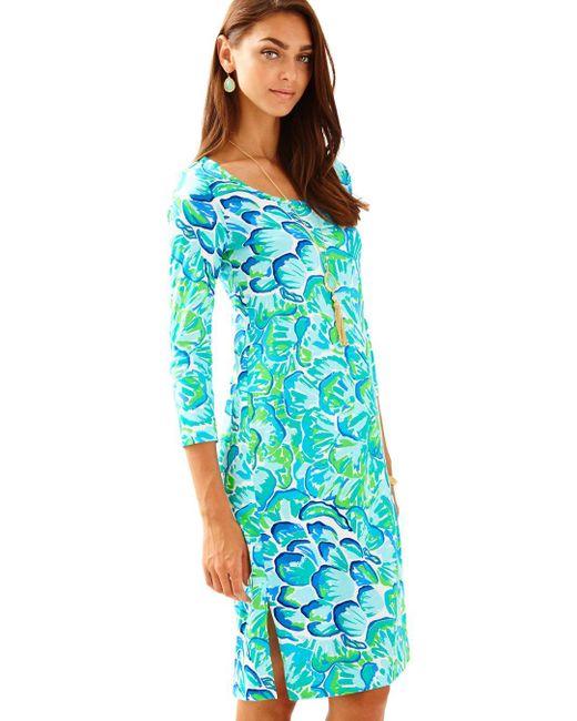 Lilly Pulitzer   Green Kenzie Dress   Lyst