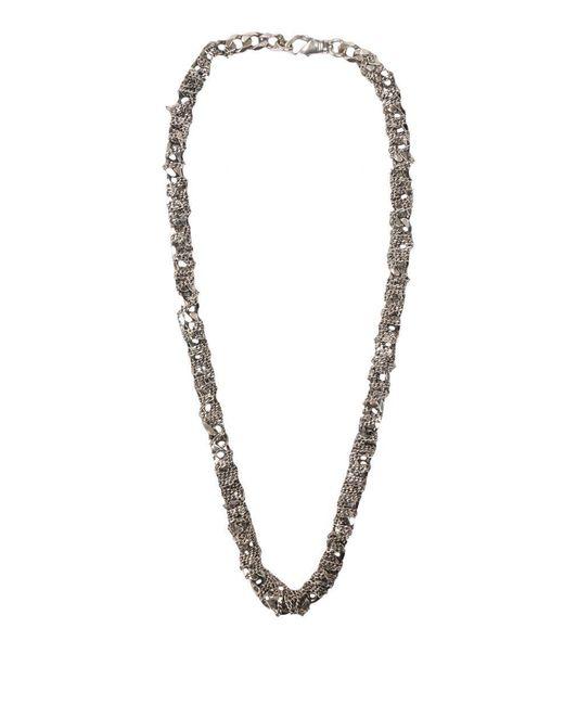 Emanuele Bicocchi - Metallic Chain Necklace - Lyst