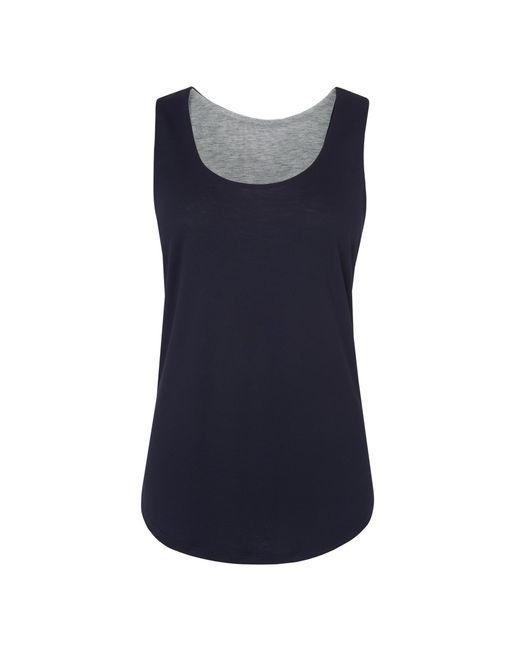 L.K.Bennett   Blue Teal Reversible Vest   Lyst